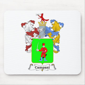Campani Family Hungarian Coat of Arms Mouse Pad