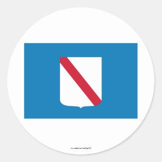 Campania flag stickers