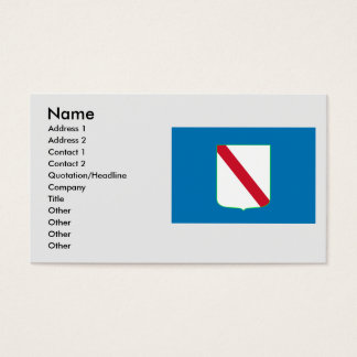 Campania, Italy Business Card