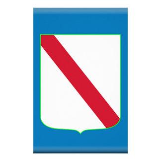 Campania (Italy) Flag Custom Stationery