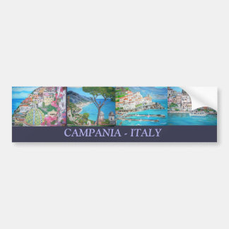 Campania - pegatina para auto