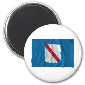 Campania waving flag fridge magnets