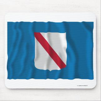 Campania waving flag mouse pad