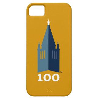 Campanil en el oro iPhone 5 fundas