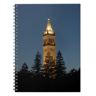 Campanile at Night Notebook