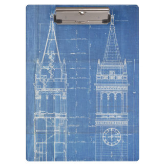Campanile Blueprint Clipboard