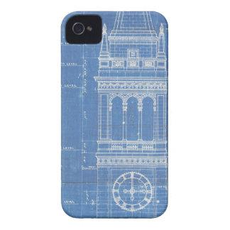 Campanile Blueprint iPhone 4 Cover