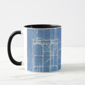 Campanile Blueprint Mug