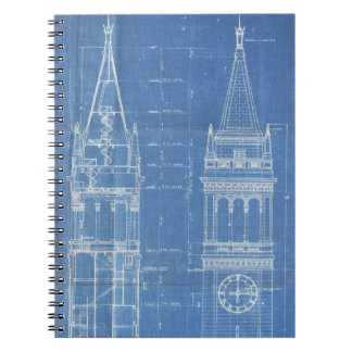 Campanile Blueprint Notebook