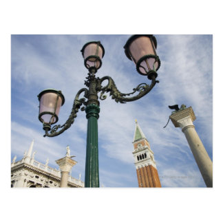 Campanile in the Piazza San Marco Venice Italy Postcard