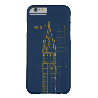 Campanile Interior Blueprint Barely There iPhone 6 Case