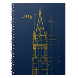 Campanile Interior Blueprint Notebook