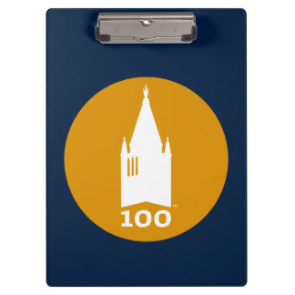 Campanile on Blue Clipboard