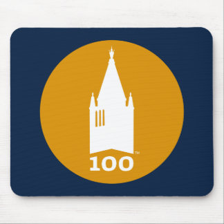 Campanile on Blue Mouse Pad