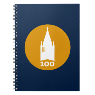 Campanile on Blue Notebook