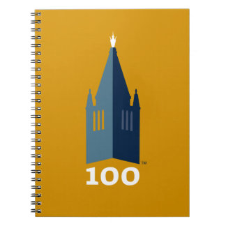 Campanile on Gold Notebook