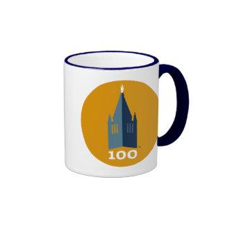 Campanile on Gold Ringer Mug