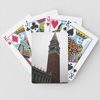 Campanile Piazza San Marco Bicycle Playing Cards