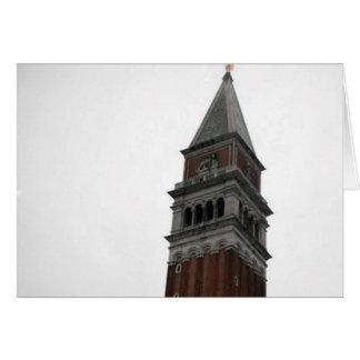 Campanile Piazza San Marco Card