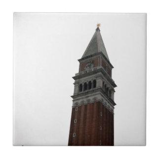 Campanile Piazza San Marco Ceramic Tile