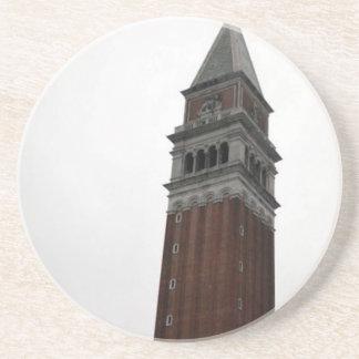Campanile Piazza San Marco Drink Coaster