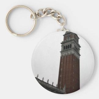 Campanile Piazza San Marco Keychain