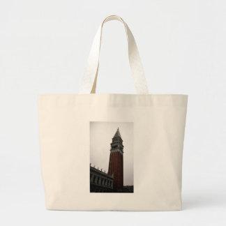 Campanile Piazza San Marco Large Tote Bag