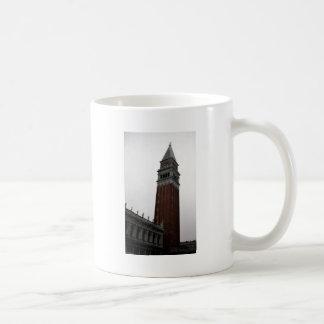 Campanile Piazza San Marco Classic White Coffee Mug