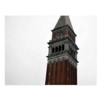 Campanile Piazza San Marco Postcard