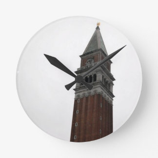 Campanile Piazza San Marco Round Clock
