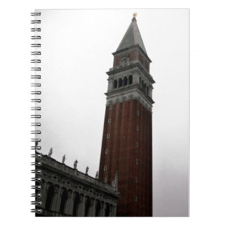 Campanile Piazza San Marco Spiral Notebook