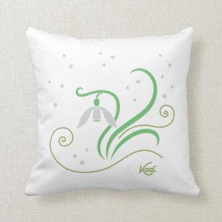 Campanilla de invierno almohadas