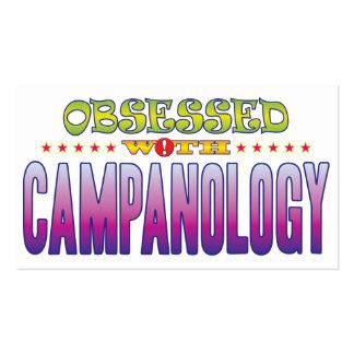 Campanology 2 obsesionado tarjeta de visita