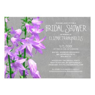 Campanula Bridal Shower Invitations Custom Announcements