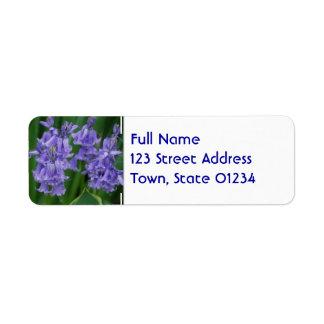 Campanula Return Address Labels
