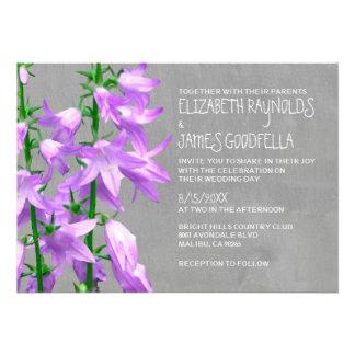 Campanula Wedding Invitations Invitations