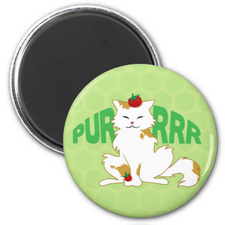 Campari Cat Purr Magnet