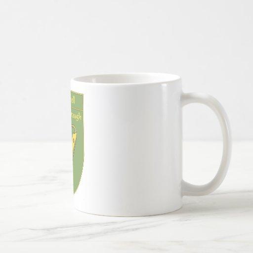 Campbell 1798 Flag Shield Classic White Coffee Mug