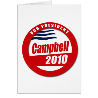 Campbell 2010 Button Card