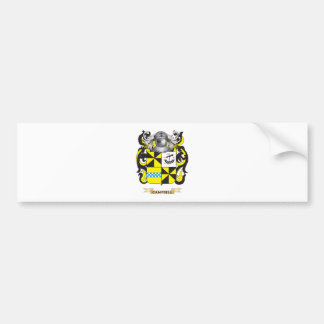 Campbell-2 Coat of Arms (Family Crest) Bumper Sticker