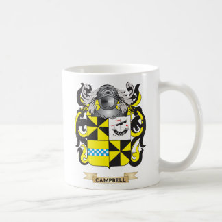 Campbell-2 Coat of Arms Family Crest Coffee Mug