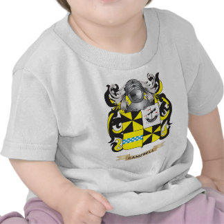 Campbell-2 Coat of Arms (Family Crest) T-shirt