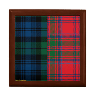 Campbell and Grant Clan Tartan Gift Boxes