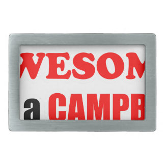 Campbell Awesome Family Belt Buckles