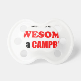 Campbell Awesome Family Baby Pacifiers