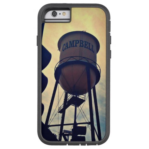 Campbell CA Water Tower Tough Xtreme iPhone 6 Case