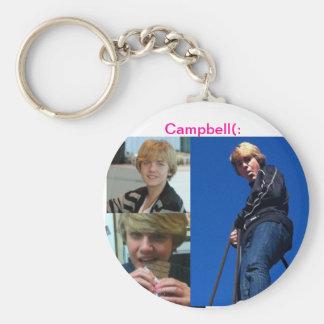 Campbell Carsley Llavero Redondo Tipo Pin