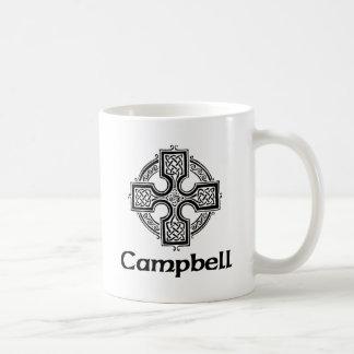 Campbell Celtic Cross Coffee Mug