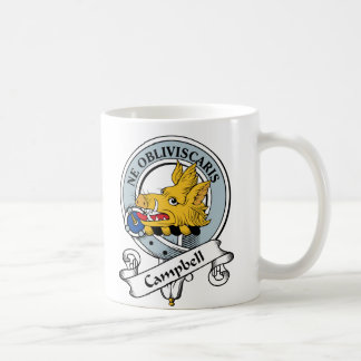 Campbell Clan Badge Coffee Mugs