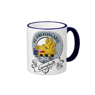 Campbell Clan Badge Ringer Coffee Mug